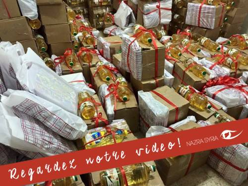 Food packages for Christmas